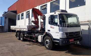 Caminhão Munck – Ano 2018 > Locação - Locação - Mercedes-Benz - Agrobill - Tratores, Implementos Agrícolas, Pneus