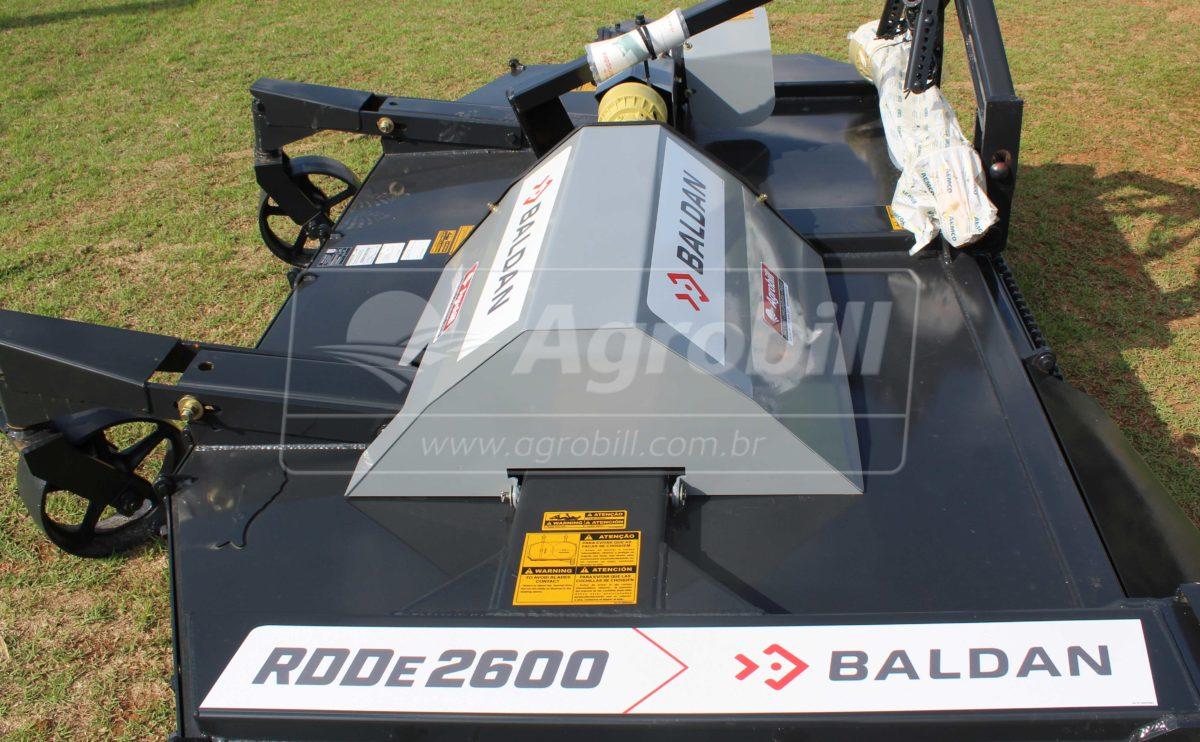 Roçadeira Hidráulica RDDE 2600 / Dupla Direta / com Roda / Proteção total da corrente – Baldan > Nova - Roçadeira - Baldan - Agrobill - Tratores, Implementos Agrícolas, Pneus