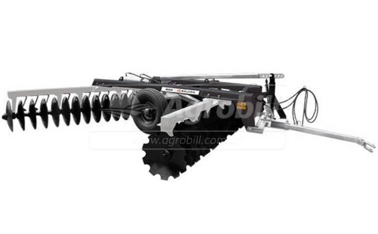 Grade Niveladora Controle Remoto NVCR 52 × 22″ x 175 mm / Discos Recortados – Baldan > Nova - Grades Niveladoras - Baldan - Agrobill - Tratores, Implementos Agrícolas, Pneus