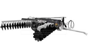 Grade Niveladora Controle Remoto NVCR 36×22″x3,5 / com Discos Recortados – Baldan > Nova - Grades Niveladoras - Baldan - Agrobill - Tratores, Implementos Agrícolas, Pneus