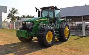 Trator John Deere 7230 4×4 ano 2018 Semi novo com apenas 351 horas - Tratores - John Deere - Agrobill - Tratores, Implementos Agrícolas, Pneus