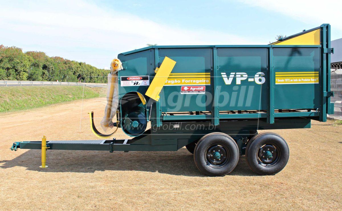 Vagão Forrageiro VP-6 – Pinheiro > Novo - Vagão Forrageiro - Pinheiro - Agrobill - Tratores, Implementos Agrícolas, Pneus