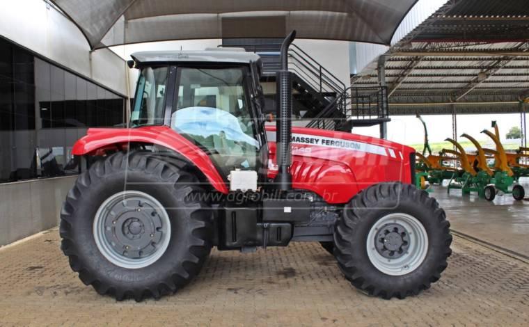 Trator Massey 7140 4×4 ano 13/14 com 1437 horas - Tratores - Massey Ferguson - Agrobill - Tratores, Implementos Agrícolas, Pneus
