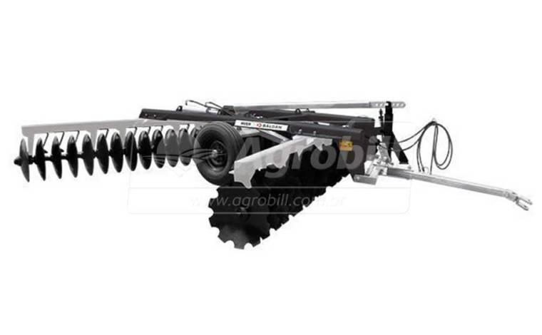 Grade Niveladora Controle Remoto NVCR 42 x 22″ x 175 mm / com Discos Recortados – Baldan > Nova - Grades Niveladoras - Baldan - Agrobill - Tratores, Implementos Agrícolas, Pneus
