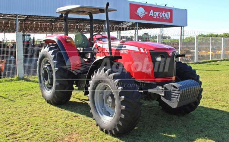 Trator Massey 4292 4×4 ano 2014 aberto - Tratores - Massey Ferguson - Agrobill - Tratores, Implementos Agrícolas, Pneus