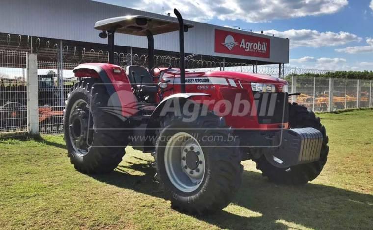 Trator Massey 4292 HD 4×4 ano 2016 equipado com Redutor de Velocidade (creeper) - Tratores - Massey Ferguson - Agrobill - Tratores, Implementos Agrícolas, Pneus