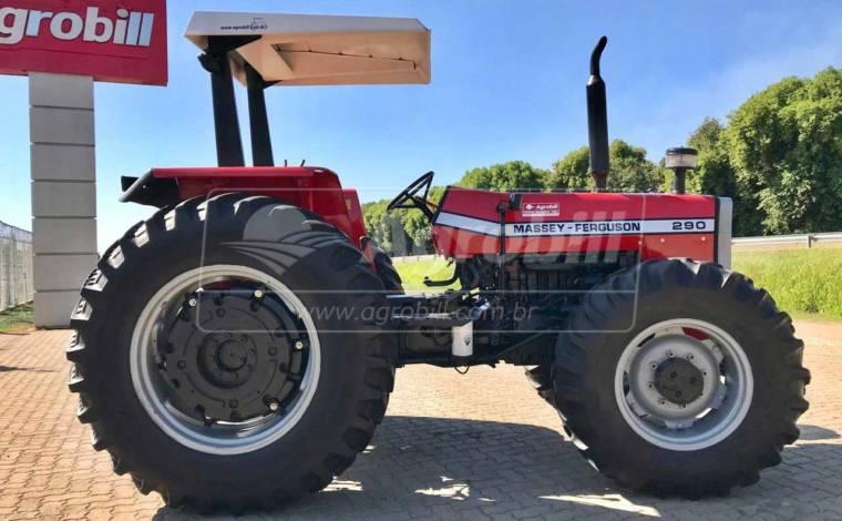 Trator Massey 290 4×4 ano 1997 - Tratores - Massey Ferguson - Agrobill - Tratores, Implementos Agrícolas, Pneus