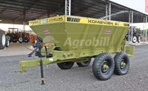 Distribuidor de Calcário e Adubo Komander K60 – Kamaq > Usado - Distribuidor de Calcário - Kamaq - Agrobill - Tratores, Implementos Agrícolas, Pneus