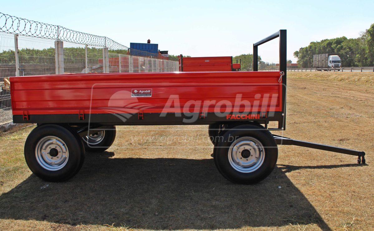 Carreta Agrícola 4.000 Kg / 2 Eixos Simples / Sem Pneus – Facchini > Nova - Carreta Agrícola Metálica - Facchini - Agrobill - Tratores, Implementos Agrícolas, Pneus