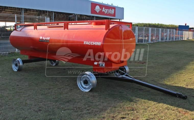 Reboque Agrícola Tanque de Água 4500 L / 2 Eixos Simples / Sem Pneus – Facchini > Novo - Tanque de Água - Facchini - Agrobill - Tratores, Implementos Agrícolas, Pneus