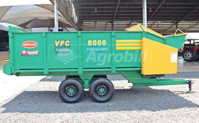 Vagão Forrageiro VFC 8000 com Dosador / Eixo Tandem – Cremasco > Usado - Vagão Forrageiro - Cremasco - Agrobill - Tratores, Implementos Agrícolas, Pneus