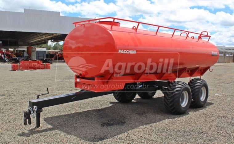Reboque Agrícola Tanque de Água 8000 L / Tandem / Sem Pneus – Facchini > Novo - Tanque de Água - Facchini - Agrobill - Tratores, Implementos Agrícolas, Pneus