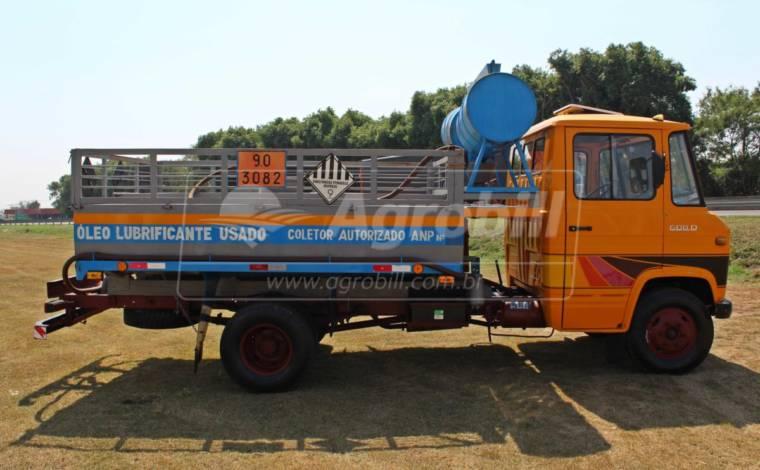 MB L 608 D 1980/1980 impecável, tanque para coleta de óleo 4000 L Usado - Caminhões - Mercedes-Benz - Agrobill - Tratores, Implementos Agrícolas, Pneus