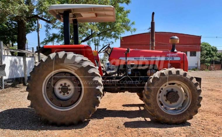 Trator Massey 275 4×4 Advanced ano 2003, único dono em ótimo estado de conservação - Tratores - Massey Ferguson - Agrobill - Tratores, Implementos Agrícolas, Pneus