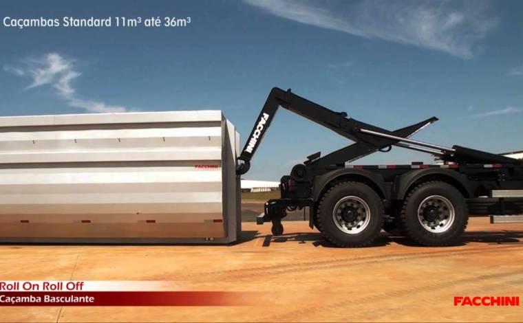 Roll On Roll Off – FACHINNI – 0 KM (somente o equipamento sem caçamba) - Implementos Rodoviários - Facchini - Agrobill - Tratores, Implementos Agrícolas, Pneus