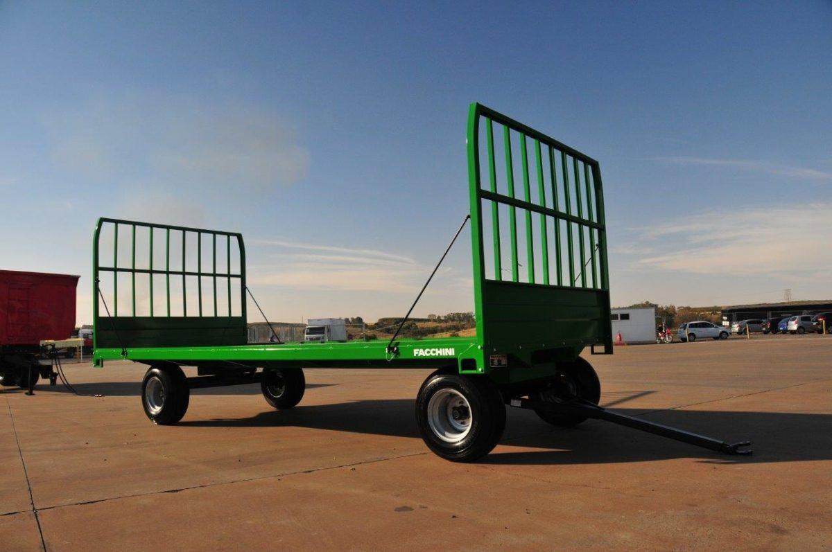 Carreta Agrícola para Transporte de Feno 3000 kg / Rodado Simples / com Malhal / Sem Pneus – Facchini > Nova - Carreta Agrícola Metálica - Facchini - Agrobill - Tratores, Implementos Agrícolas, Pneus