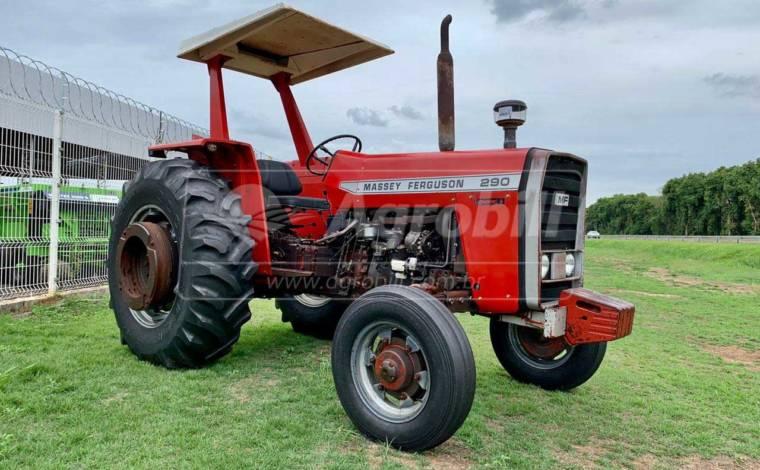 Trator Massey 290 4×2 pesado , trator unico dono todo original - Tratores - Massey Ferguson - Agrobill - Tratores, Implementos Agrícolas, Pneus