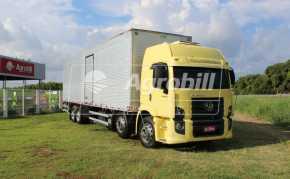 Caminhão 24-250 E Constellation 8×2 ano 2008 / com Báu – Volkswagem > Usado - Caminhões - Volkswagem - Agrobill - Tratores, Implementos Agrícolas, Pneus