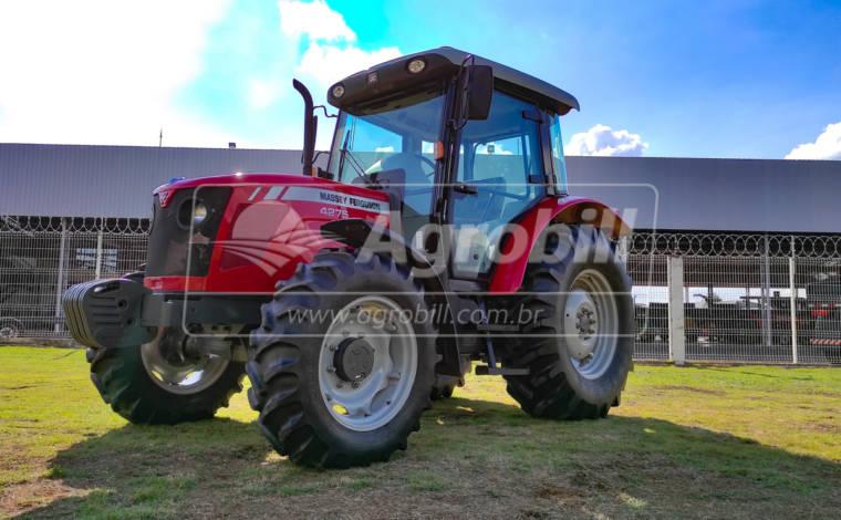 Trator MF 4275 4×4 ano 2014 Cabinado com apenas 2.006 horas de uso - Tratores - Massey Ferguson - Agrobill - Tratores, Implementos Agrícolas, Pneus