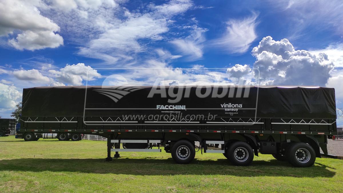 Carreta Graneleira 3 eixos com Eixos distanciados – Facchini ano 2021 nova sem uso - Graneleiro - Facchini - Agrobill - Tratores, Implementos Agrícolas, Pneus