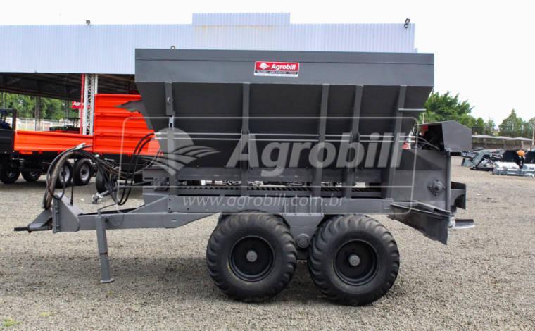 Distribuidor de Calcário 6000 kg – Maschieto > Usado - Distribuidor de Calcário - Maschieto - Agrobill - Tratores, Implementos Agrícolas, Pneus