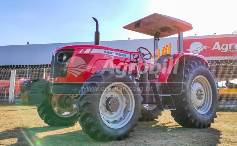 Trator Massey Ferguson 4275 4×4 ano 2013 c/ 1127 horas em ótimo estado - Tratores - Massey Ferguson - Agrobill - Tratores, Implementos Agrícolas, Pneus