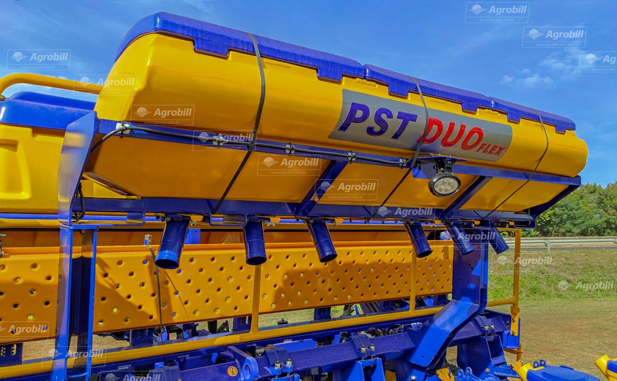 Plantadeira PST Duo Flex 5950/ 12 linhas de 50 / Condutor Inox / Marcador Hidráulico / Disco de Corte 20″ / CSU TITANIUM – TATU >Novo - Plantadeiras - Tatu Marchesan - Agrobill - Tratores, Implementos Agrícolas, Pneus
