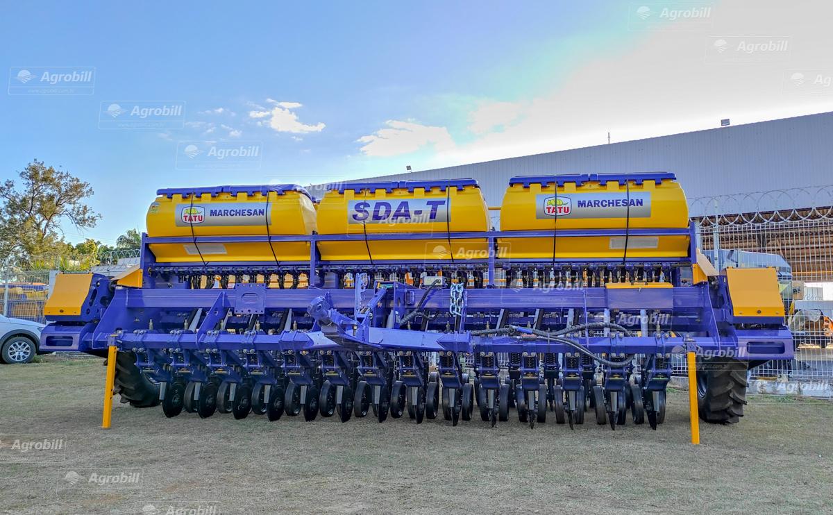 Semeadeira Direta Articulada SDA T 6380 / 29 linhas E 175 – TATU > Novo - Semeadeira - Tatu Marchesan - Agrobill - Tratores, Implementos Agrícolas, Pneus
