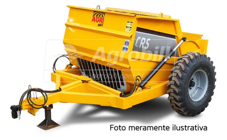 Scraper CRS 2 m³ com Rodas Laterais – AgriMec > Novo - Scraper Raspadeira Agrícola controle remoto. - AgriMec - Agrobill - Tratores, Implementos Agrícolas, Pneus