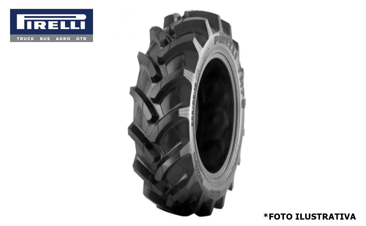 Pneu 13.6×38 / 06 Lonas – Pirelli – TM 75 > Novo - 13.6x38 - Pirelli - Agrobill - Tratores, Implementos Agrícolas, Pneus