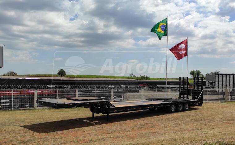 Prancha Rebaixada 19 metros 3.20 Larg. 3 eixos s/ Pneus FACCHINI 0KM - Pranchas - Facchini - Agrobill - Tratores, Implementos Agrícolas, Pneus