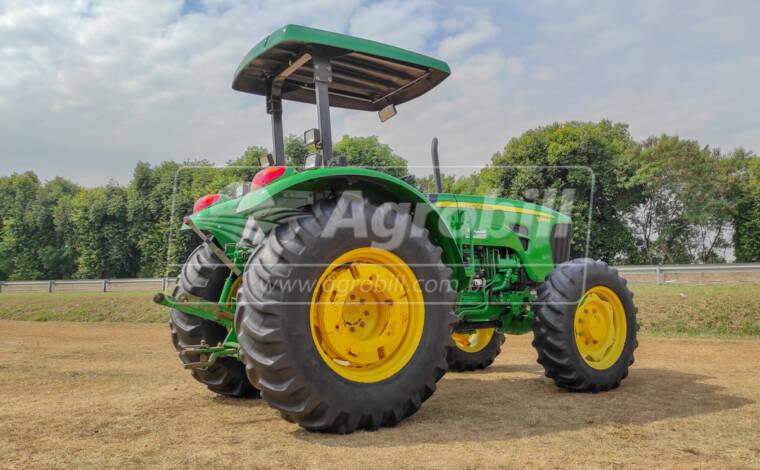 Trator John Deere 5090 E ano 2012/2013 - Tratores - John Deere - Agrobill - Tratores, Implementos Agrícolas, Pneus