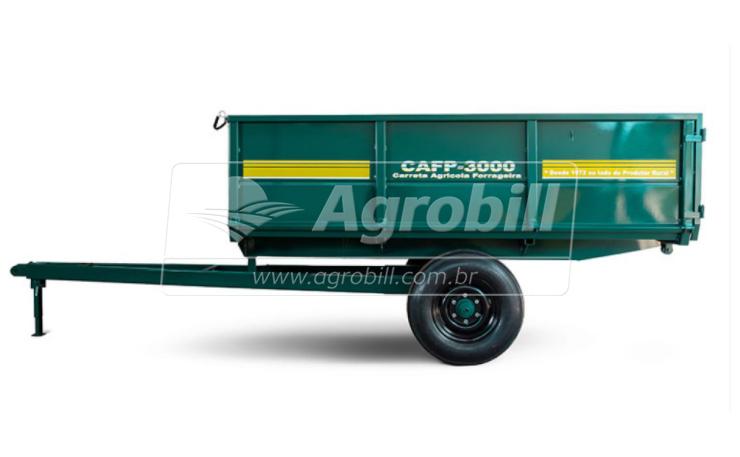Carreta Agrícola Basculante CAFP 3.000 / Rodado Simples / Aro 16 / Sem Pneus – Pinheiro > Novo - Vagão Forrageiro - Pinheiro - Agrobill - Tratores, Implementos Agrícolas, Pneus