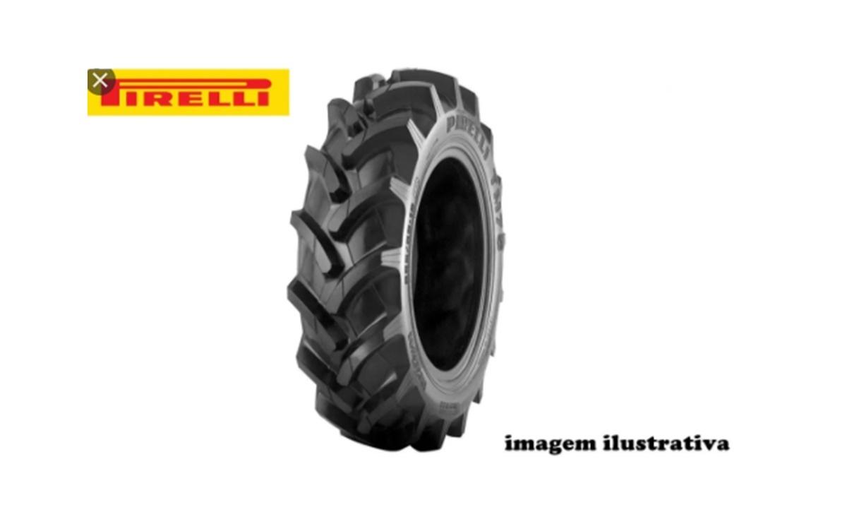 Pneu 12.4×38 / 6 Lonas  – Pirelli – TM 75 > Novo - 12.4x38 - Pirelli - Agrobill - Tratores, Implementos Agrícolas, Pneus