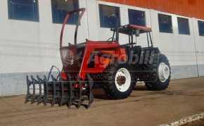 Trator Valmet 1580 4×4 ano 2000 com conjunto frontal TATU (ENLEIRADOR) - Tratores - Valtra - Agrobill - Tratores, Implementos Agrícolas, Pneus