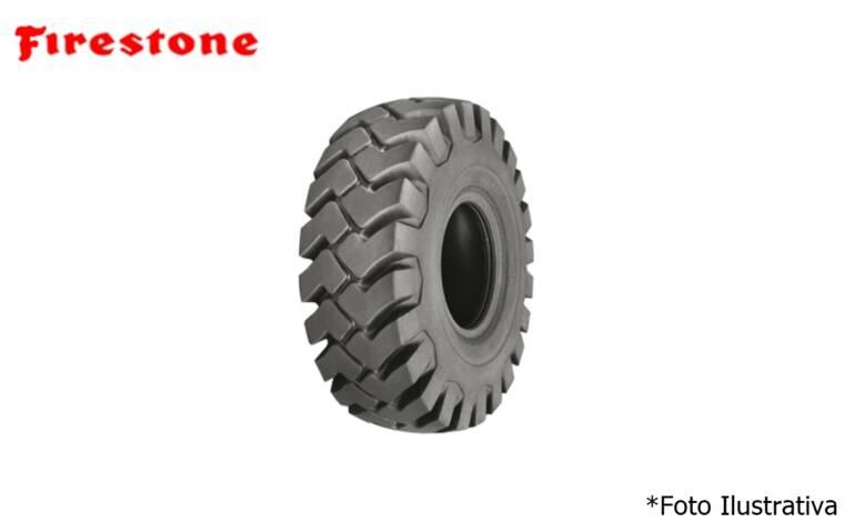 Pneu 20.5×25 / 16 Lonas – Firestone – L-3 > Novo - 23.5x25 - Firestone - Agrobill - Tratores, Implementos Agrícolas, Pneus