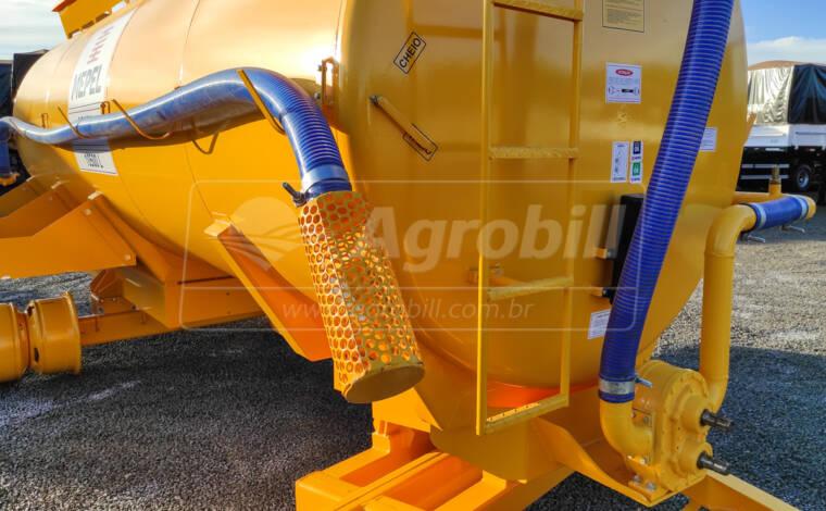 Carreta Tanque Abastecedor Pulverizador ABAPU 10500L / 2 Eixos Simples + Duplo / Sem Pneus – Mepel > Novo - Tanque de Água - Mepel - Agrobill - Tratores, Implementos Agrícolas, Pneus