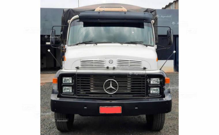 Caminhão Mercedes Benz MB-1318 6×2 ano 1987 Graneleiro > Usado - Caminhões - Mercedes-Benz - Agrobill - Tratores, Implementos Agrícolas, Pneus
