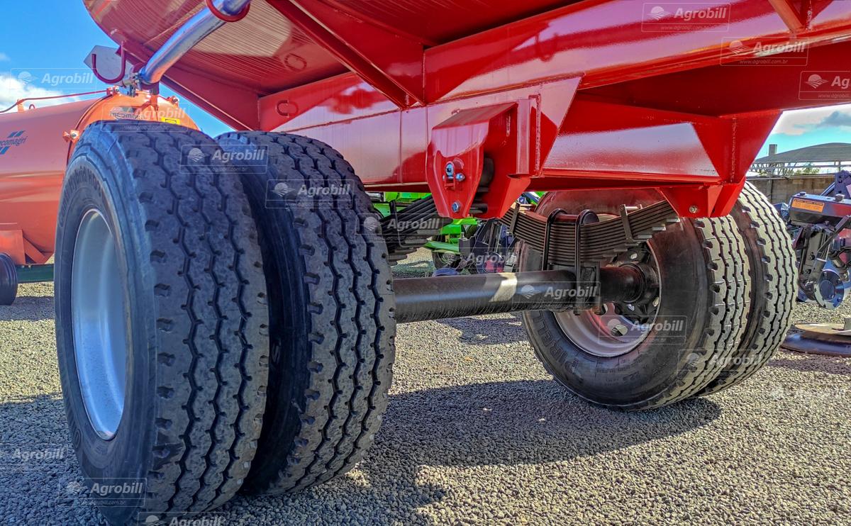 Reboque Agrícola Tanque de Água 12500 L / Plataforma Combate a Incêndio / 2 Eixos RS + RD / Aro 22.5 / com Molas / Sem Pneus – Facchini – Novo - Tanque de Água - Facchini - Agrobill - Tratores, Implementos Agrícolas, Pneus