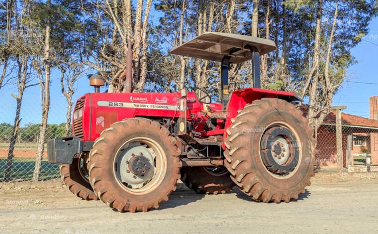 Trator Massey Ferguson 283 4×4 Advanced ano 2005 Original único dono - Tratores - Massey Ferguson - Agrobill - Tratores, Implementos Agrícolas, Pneus