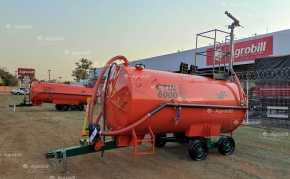 Carreta Tanque com Bomba Lobular CTIN 6000 L / Com Canhão de Combate a Incêncio / Bomba Bl-3 / Rodado Tandem / Sem Pneus – Incomagri > Novo - Tanque de Água - Incomagri - Agrobill - Tratores, Implementos Agrícolas, Pneus