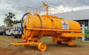Carreta Tanque Combate Incêndio CARTBB 10500L / 2 Eixos Simples + Duplo / Sem Pneus – Mepel > Novo - Tanque de Água - Mepel - Agrobill - Tratores, Implementos Agrícolas, Pneus