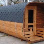 Sauna Horizontal Carré
