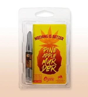 Pineapple Murder CBD Distillate Cart