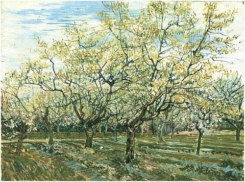 El Huerto Blanco de Van Gogh