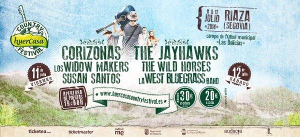 Cartel del festival - www.huercasa.com