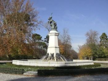 Estatua del Ángel Caido