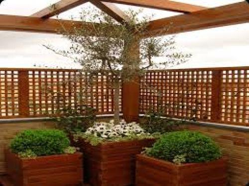Maceteros de madera (Fuente: www.abaco.pro)