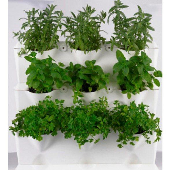 Jardinera para cultivo en vertical