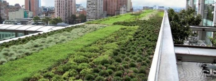 Cubiertas vegetales: techo verde o Green Roof. Fuente: zinco-cubiertas-ecologicas.es